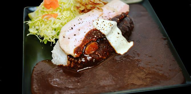 豚バラカレー(焼き)